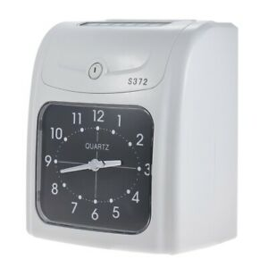 Electronic Employee Time Clock Recorder Attendance Timecard Machine For Office