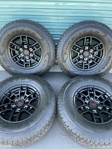 Toyota Tacoma Trd Pro Factory Wheels And Tires