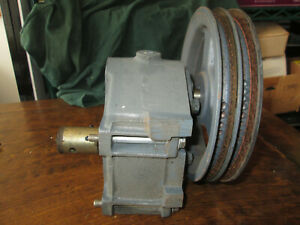 Taylor Soft Serve Gearbox From A Model 754 With Pulley