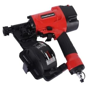 Powersmart Ps6110 Pneumatic Coil 15 degree Coil Roofing Nailer 3 4 To 1 3 4 In