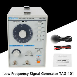 New Low Frequency Audio Signal Generator Signal Source 10hz 1mhz Tag 101 110v 5w