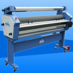 Us Stock Qomolangma 55in 63in Full auto Wide Format Cold Laminator Heat Assisted