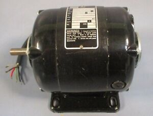 Bodine Electric Nsh 33 Small Motor 115 Vdc 1 20 Hp 1725 Rpm Nwob Nos