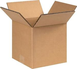 Si Products 8 X 8 X 8 Shipping Boxes 48 Ect Double Wall 080808hddw