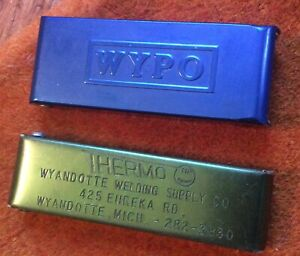 Vintage 2 Welding Torch Tip Cleaner Tools Wypo Advertising Thermo Michigan