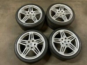 19 Porsche 911 997 Turbo Factory Oem Wheels Rims And New Tires