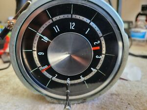 1965 Chevrolet Impala Clock Serviced Tested And Working 65 Bel Air Biscayne