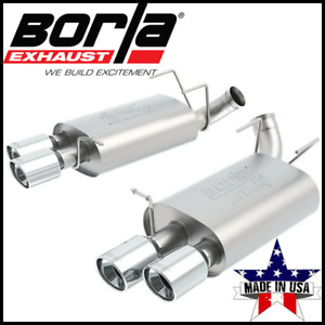 Borla Atak Axle Back Exhaust System Fits 13 14 Ford Mustang Shelby Gt500 5 8l