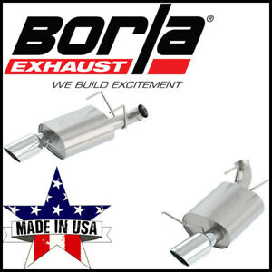 Borla Atak 2 75 Axle Back Exhaust System Fits 2013 2014 Ford Mustang Gt 5 0l V8