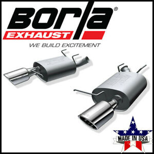 Borla Atak Axle Back Exhaust System Fits 2011 2014 Ford Mustang 3 7l