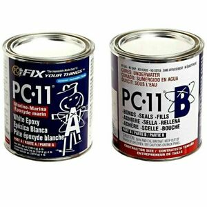 Pc products Pc 11 Epoxy Adhesive Paste Two part Marine Grade 4lb In Two Cans