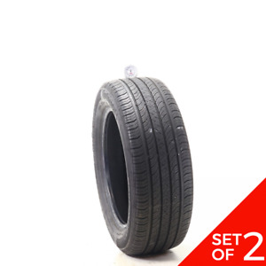 Set Of 2 Used 205 55r16 Continental Procontact Tx 91h 7 32