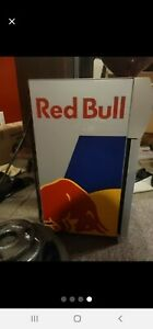 Red Bull Over The Counter Fridge With Key
