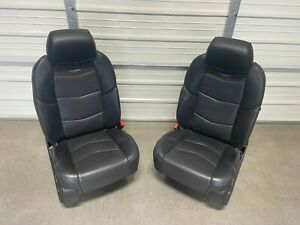 2015 2020 Cadillac Escalade Oem Front Black Leather Seats Right Left Bucket Seat