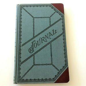 Vtg Boorum Pease B p Journal Account Book 66j 300 Pages Some Missing 12 X 7 5