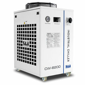 Us S a Cw 6200bn Water Chiller For Co2 Laser Tube laser Diode cnc Spindle Cool