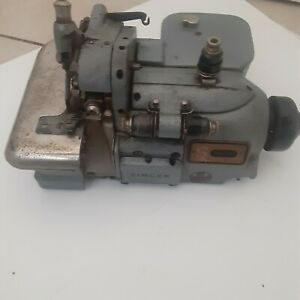 Vtg Industrial Sewing Machine Singer 460 K73 Great Britain For Parts Not Working