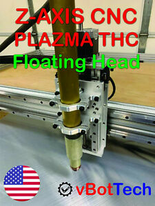 Cnc Plasma Table Z axis With Precision Linear Rail And Floating Head Thc