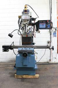 Southwestern Ind Trak Dpms3 3 axis Cnc Bed Mill W hand Wheels New 2004