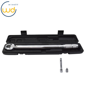 12 Torque Wrench Snap 38 Socket Drive Click Type Ratcheting 10 150 Ft Lbs