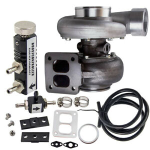 Gt45 Turbocharger T4 V Band For Ford Mustang Base Convertible 2 Door 4 6l 1997