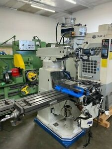 Acra Mill 10 X 54 Milling Machine Sony Lh30 Digital Readout X And Knee Power