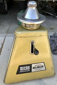 Vintage M 60 Micro Precision Wheel Balancer Vintage With Coats Pm 202 Adapter