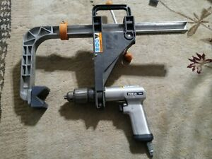 Snap On 1 2 Air Pdr5a Pneumatic Blue Point Drillmate Dm100 Portable Drill Press