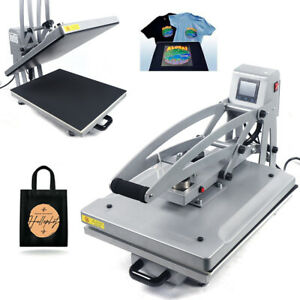 T shirt Heat Press Sublimation Hot Stamping Machine With Drawer clamsell Design