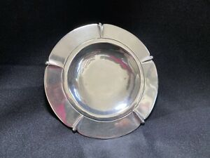 Vintage Beautiful Hand Made William Spratling Sterling Silver Ash Tray Plate