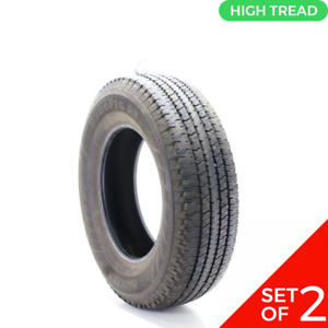 Set Of 2 Used 235 75r17 Hankook Dynapro At Rf08 108s 12 32
