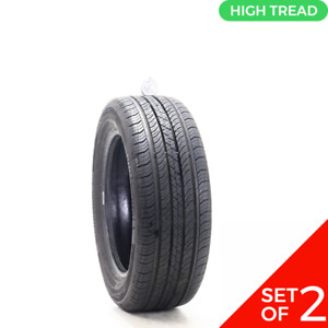 Set Of 2 Used 205 55r16 Continental Procontact Tx 89v 8 9 32