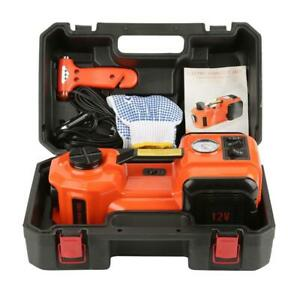 Electric Hydraulic Floor Jack Car Jack Lift 5 Ton 12v Electric Impact Wrench A