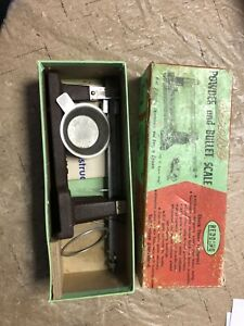 Redding Powder Scale with box and paperwork $30.00