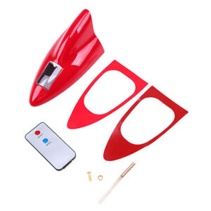 Red Radio Signal Am Fm Shark Fin Aerial Antenna For Volkswagen Audi Mazda Ford