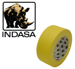 Indasa Masking Tape Automotive Quality 48mm X 50mt Roll 2 1 Roll Pack