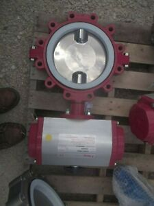 Bray Controls 931605 11305532 Pneumatic Actuator W 10 Butterfly Valve 00