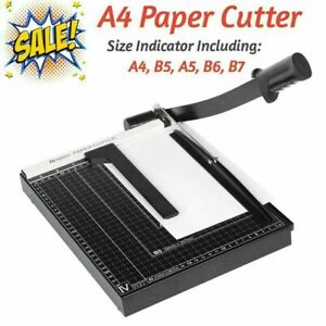 Heavy Duty A4 Paper Sheet Photo Cut Cutter Trimmer Machine For home Offices C