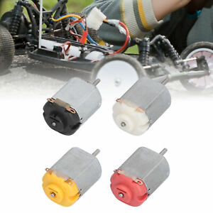 10pcs Mini Electric Hobby Motor High Speed Low Noise Dc Motors For Diy Toys Cars