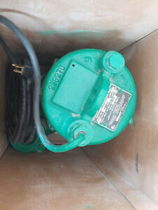 Pentair Myers Submersible Sewage Pump Whr5h 11 115v 5hp 60hz 1phase