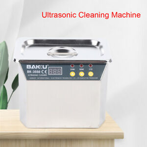 Ultrasonic Cleaner Jewelry Manicur Mobile Phone Cleaning Machine Led Display 0 8