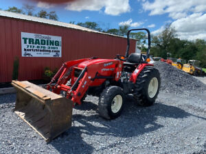 2020 Branson 4520 4x4 45hp Compact Tractor W Loader Clean Tractor Only 400hrs