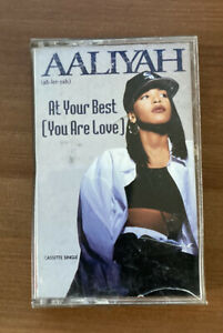 Aaliyah At your best single Cassette Tape 1994 $29.99