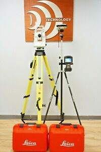 Leica Ts16 I 5 R500 Imaging Robotic Total Station Cs Captivate Data Collector
