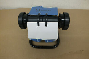 Rolodex Rotary Open Card File Dividers W Cards