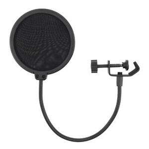 Microphone Double Layer Studio Recording Mic Wind Screen Pop Filter Mask Shield $7.19