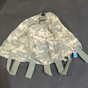 L XL US Army MICH ACH ACU UCP Digital Camo Combat Helmet Cover With IR Tabs Used $14.99