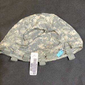 New S M US Army MICH ACH ACU UCP Digital Camo Combat Helmet Cover With IR Tabs $16.99