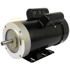 2hp 60hz 1750 Rpm Air Compressor Electric Motor Single Phase
