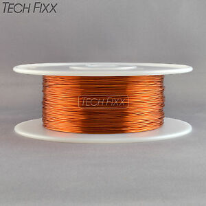 Magnet Wire 25 Gauge Awg Enameled Copper 2000 Feet Coil Winding 200c